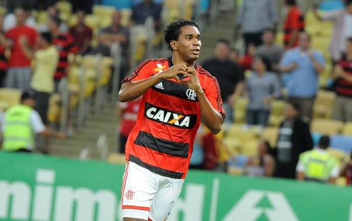 Luiz Antonio gol Flamengo (Foto: Alexandre Vidal / Flaimagem)