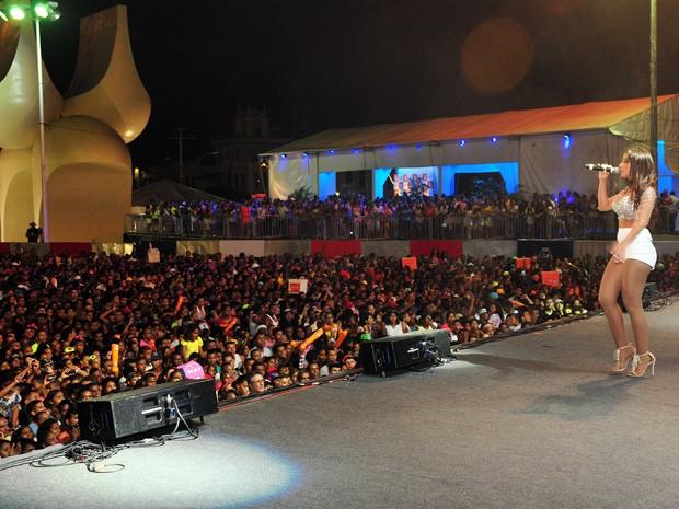 anitta se apresenta em salvador (Foto: Roberto Abreu / Agecom)