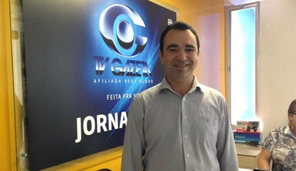 Amorim Neto volta à equipe de reportagem da TV Gazeta de Alagoas (Foto: Divulgação/ Anna Pontes )