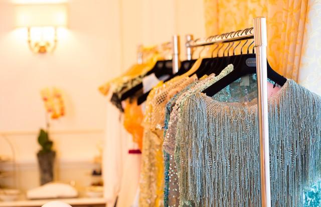 Um zoom no showroom da Alexandrine em Dubai (Foto: Divulgação )