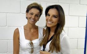 Mariana Rios comemora a Páscoa com visita da mãe no estúdio