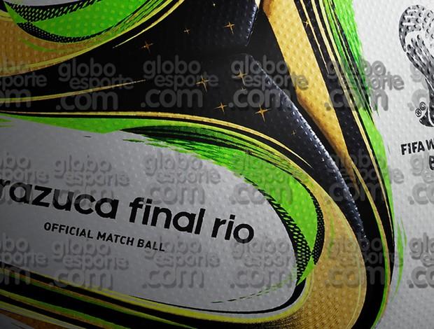 brazuca taça copa do mundo