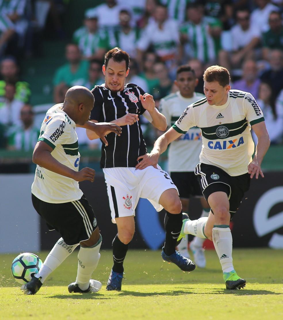 Equipes ficaram no 0 a 0 no Couto Pereira e agora podem ver outros times ultrapassarem eles (Foto: Giuliano Gomes/PR Press)