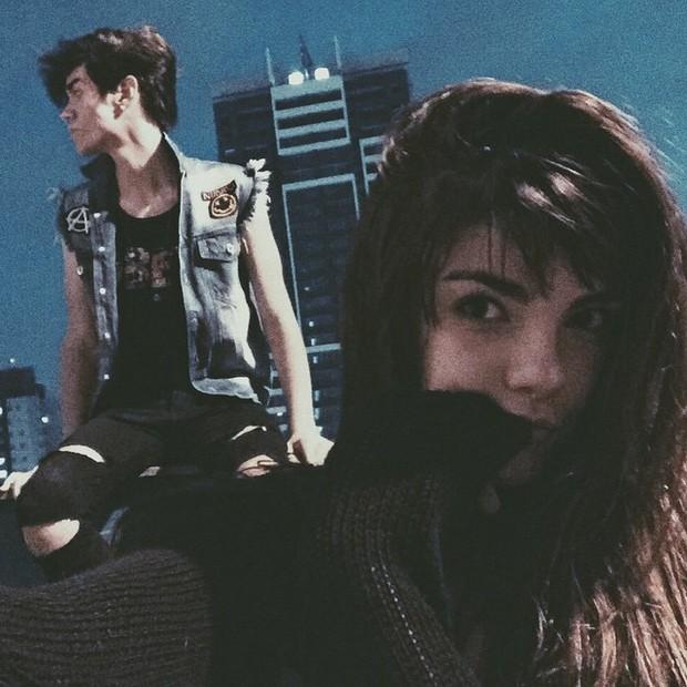 Beatriz Parizotto e Tom Toledo (Foto: Reprodução/Instagram)