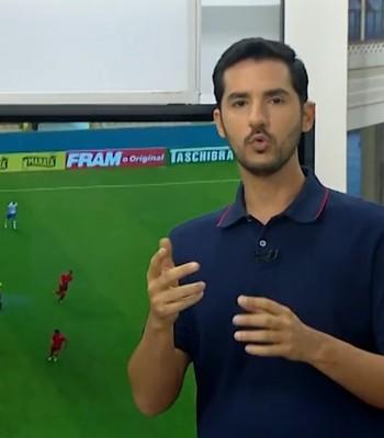 Gustavo Castellucci avalia empate do Bahia (Foto: Reprodução / TV Bahia)