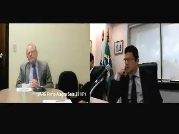 Tarso Genro foi ouvido como testemunha de defesa do ex-presidente Lula em ação da Lava Jato (Foto: Reprodução)