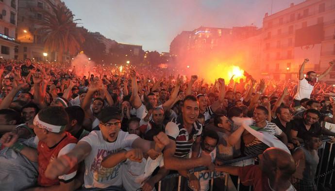 comemoração em Argel, Argélia (Foto: EFE)