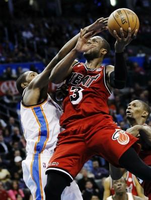 Durant, Wade e Bosh - AP (Foto: AP)