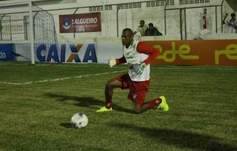Sem Luciano, Sérgio China confirma Mondragon no gol do Salgueiro