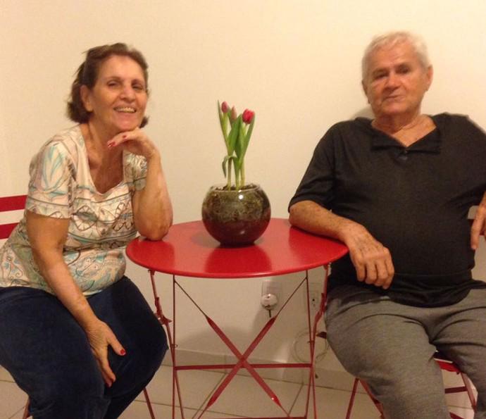 Dalva e João, avós de Felipe (Foto: Arquivo Pessoal)