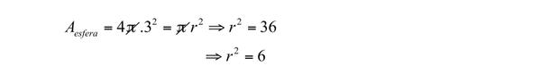 Resolução da questão de matemática (Foto: Uerj/2014)