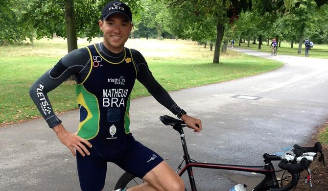 triatlo Bruno Matheus Santos (Foto: Divulgação / Antonio Fernandes)