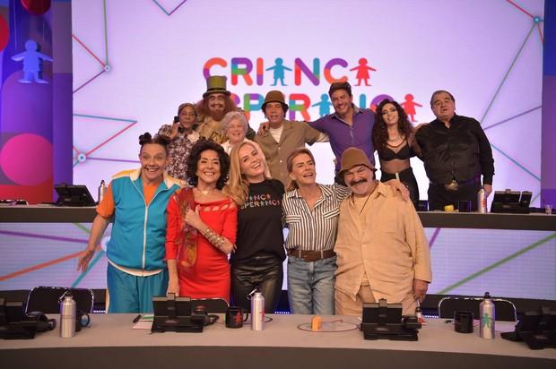 Viradão da Esperança tem Mesão com personagens históricos da Globo (Foto: Globo/Caiuá Franco)
