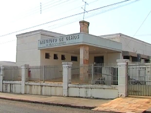 Instituto de Olhos de Buritama também teria desvio de verba (Foto: Reprodução/TV Tem)
