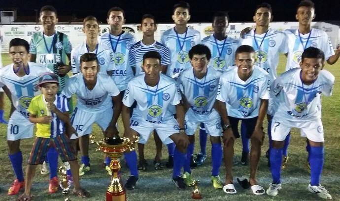 Comercial-PI campeão da Copa Norte-Nordeste de Futebol de Base (Foto: Gil Galvão Cm)