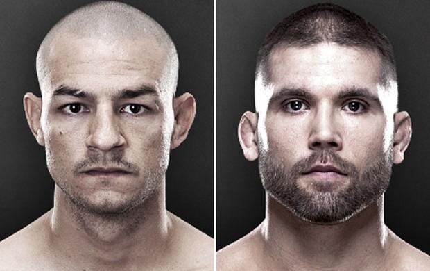 Motagem MMA - Cub Swanson e Jeremy Stephens (Foto: Reprodução/UFC)