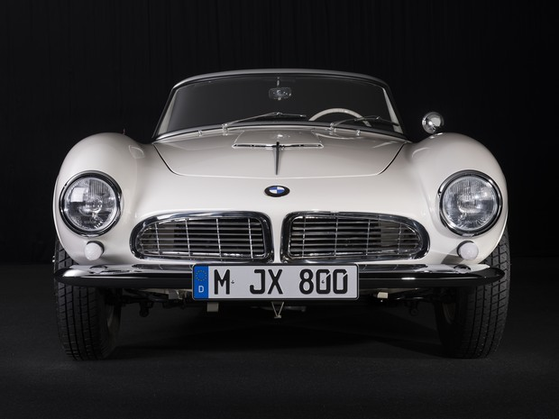 BMW 507 de Elvis Presley (Foto: Divulgação)