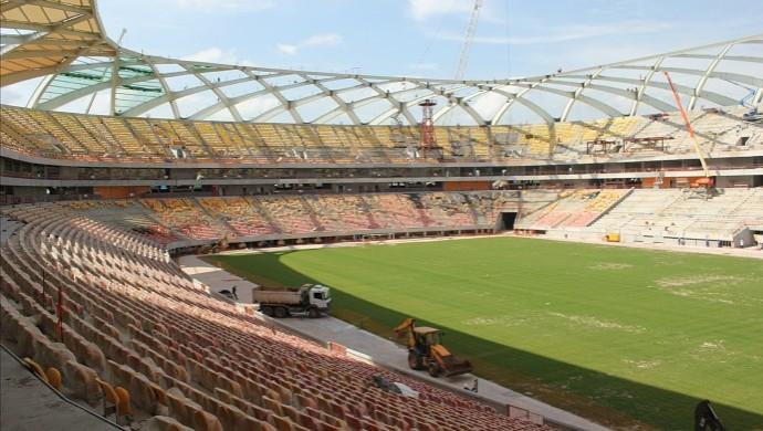 Arena da Amazônia, Manaus (Foto: Alírio Lucas)