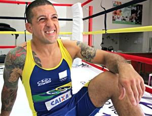 Renato Roma, lutador de Wrestling (Foto: Michele Carvalho)