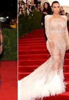 Coincidência? Kim Kardashian usa look parecido com o de Beyoncé