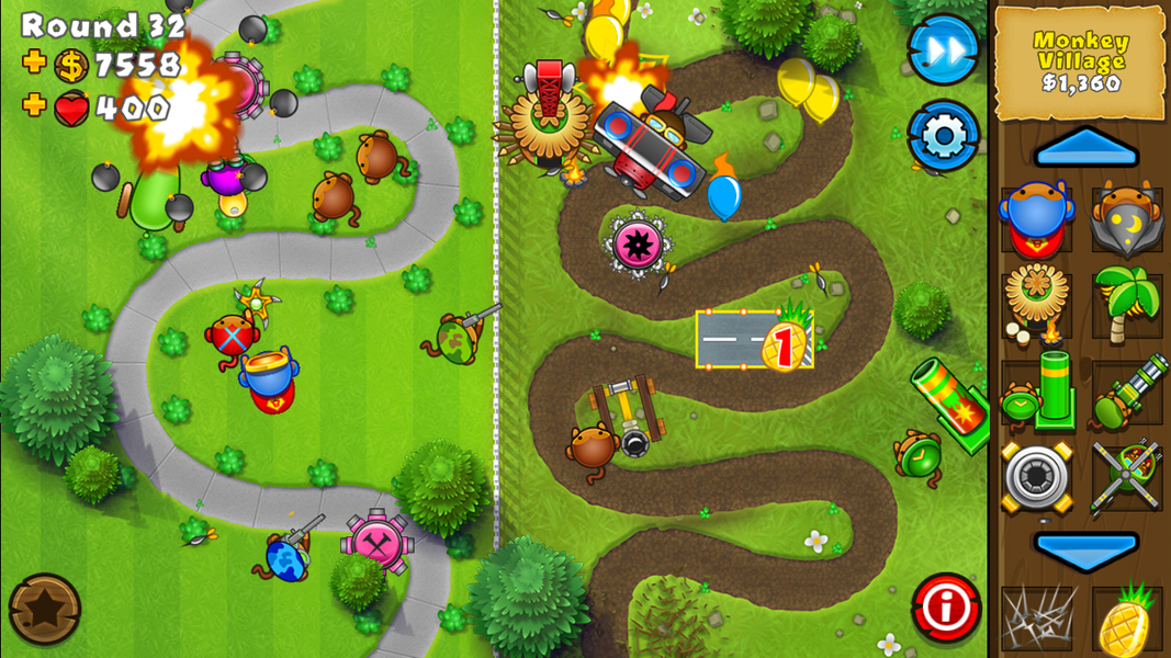 play balloon tower defence 4