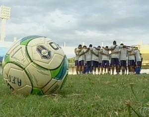 Araguaína bola (Foto: Reprodução/TV Anhanguera)