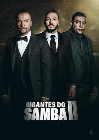 """Divulgação da turnê """"Gigantes do Samba II"""" ainda com Belo (Foto: Divulgação)"""