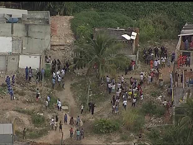 Procuradoria do município recebeu autorização para demolir dois imóveis na Vila Autódromo, Rio (Foto: Reprodução/TV Globo)