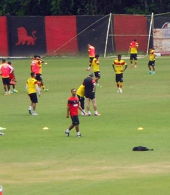 Vitória; treino; Toca do Leão (Foto: Ruan Melo)
