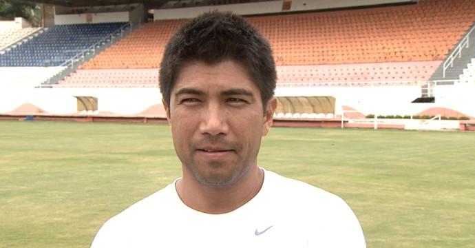 Sandro Hiroshi, ex-atacante (Foto: Reprodução EPTV)
