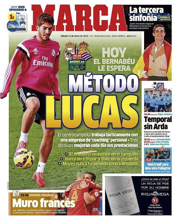Lucas Silva capa jornal