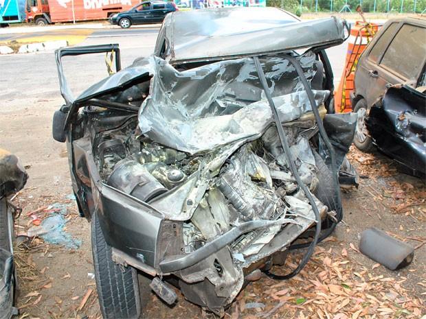 acidente (Foto: Anderson Oliveira/Blog do Anderson)