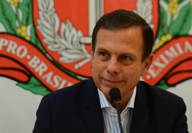 O prefeito de São Paulo, João Doria (PSDB) (Foto: Rovena Rosa/Agência Brasil)