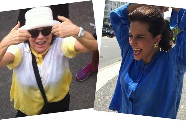 Regina Duarte e Narcisa Tamborindeguy  (Foto: Reprodução Instagram)