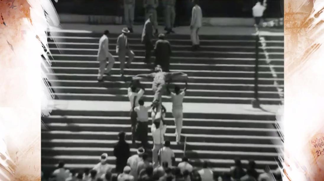 Cena do filme 'O Pagador de Promessas', de 1962, primeiro longa nacional indicado ao Oscar (Foto: Divulgação)