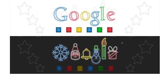 Doodle Boas Festas de 2011 (Foto: Reprodução/Google)