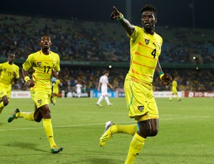Adebayor gol Togo (Foto: AP)
