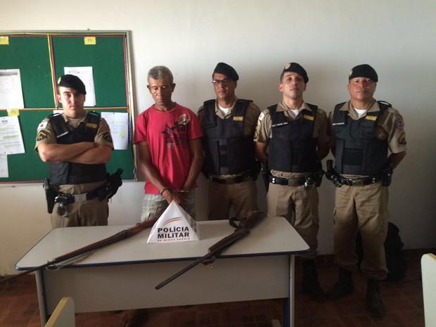 Evangelino Geraldo estava foragido desde 2003 (Foto: Divulgação / PM)