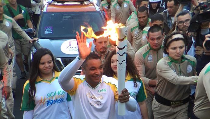 Roger Machado tocha Porto Alegre (Foto: Pedro Veríssimo/GloboEsporte.com)