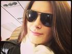 Natália Guimarães volta ao trabalho após ter filhas: 'Morrendo de saudade'