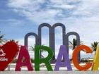 Letreiro 'Eu amo Aracaju' é instalado na Orla da Atalaia