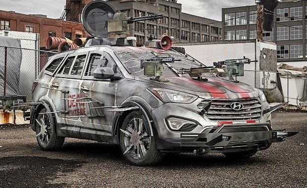 Hyundai Santa Fe Walking Dead (Foto: Hyundai)