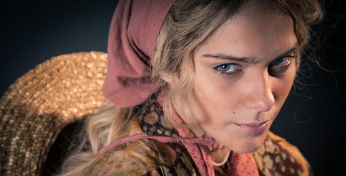 Isabella Santoni como Luana (Foto: Fabiano Battaglin / Gshow)