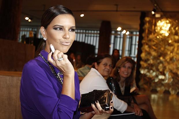 Mariana Rios na SPFW (Foto: Alessandra Gerzoschkowitz / EGO)