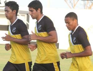 Jogadores da base do Ceará Série B (Foto: Divulgação/Cearasc.com)