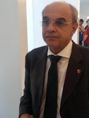 eduardo bandeira de mello cbf flamengo (Foto: Igor Rodrigues / GloboEsporte.com)