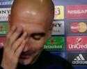 """Guardiola mostra irritação ao falar de gramado: """"Ganhei muitas Ligas, desculpe"""""""