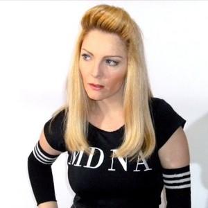 Verônica Pires - ela respira Madonna há 20 anos (Foto: Arquivo Pessoal)