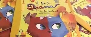 Quadro Autores e Leitores mostra a história da 'A Gata Diana na Terra do Pastoril' (Reprodução/TV Gazeta)