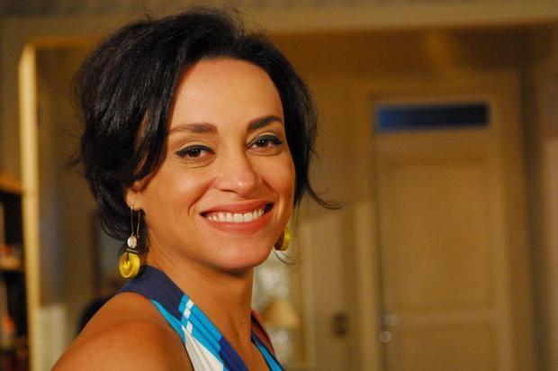 """Suzana Pires no início dos anos 2000, quando decidiu dar uma guinada na carreira e adotou os cabelos em corte """"joãozinho"""" (Foto: TV Globo)"""